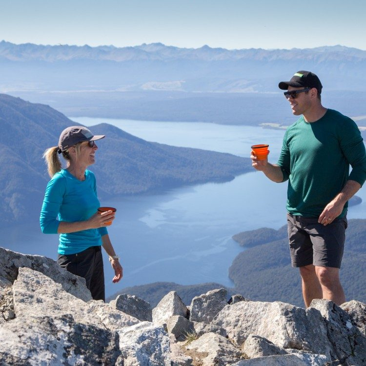 A cup at the top of the mountain makes for the best wilderness tea stop
