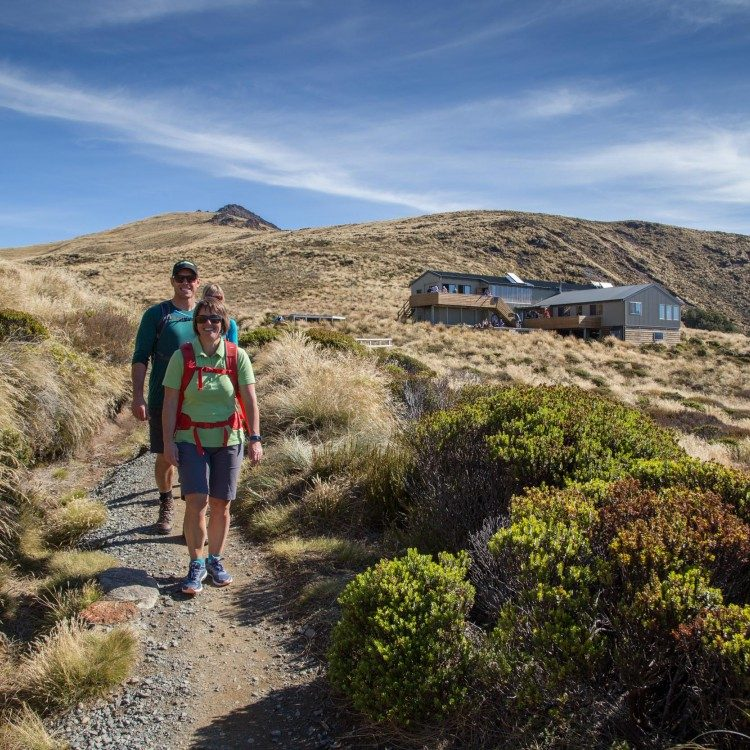 Luxmore Hut is more than your classic NZ tramping hut