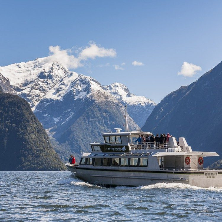 Enjoy the cruise and seeing the glacial carved mountains all around.