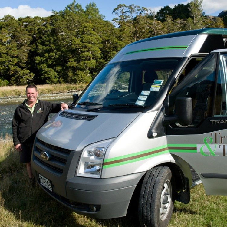 Owner Steve Norris has years of experience guiding in Fiordland.  And he's got more stories to tell than you've got time to hear!
