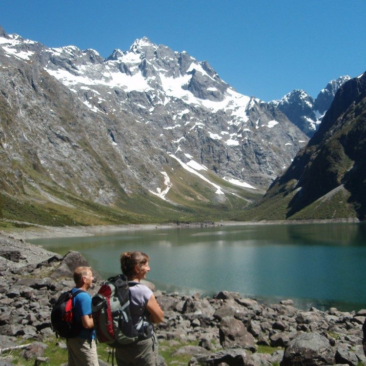 The climb to this classic hanging valley is rewarded with beautiful Lake Marian
