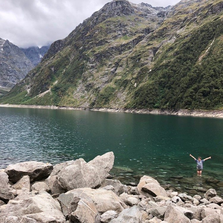 Dip your toes in Lake Marian, its rather cool!