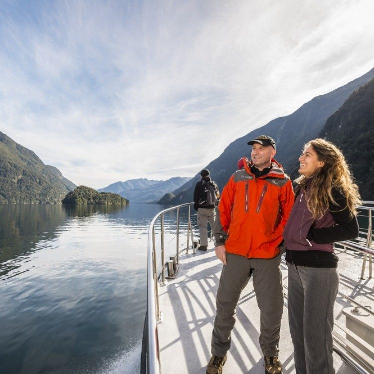 Discover Doubtful Sound by boat