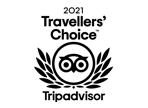 TripAdvisor - Certificate of Excellence - Hall of Fame 2015 - 2021
